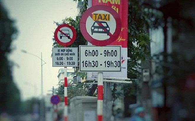 Hà Nội lên tiếng trước đề xuất gỡ biển cấm taxi vào 11 tuyến phố
