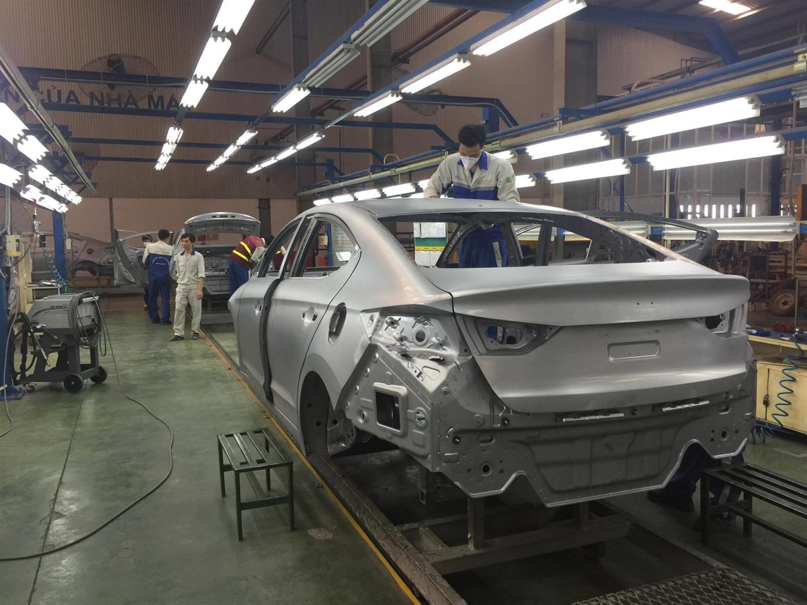 Đề xuất miễn thuế tiêu thụ với linh kiện phụ tùng ô tô sản xuất trong nước