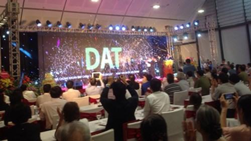 Cổ phiếu DAT của Tập đoàn Sao Mai được đón chào tại Hà Nội