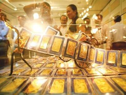 Giá vàng tăng sát mốc 36 triệu đồng/lượng