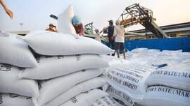 Lượng gạo tồn trong kho đang có hơn 1 triệu tấn
