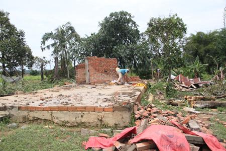 Thiệt hại hơn 7 tỷ đồng sau trận lốc xoáy kinh hoàng