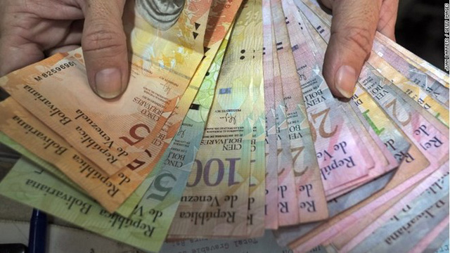 Đồng bolivar của Venezuela. (Nguồn: Getty Images)